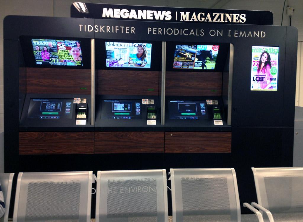 Skavsta väljer Meganews Magazines