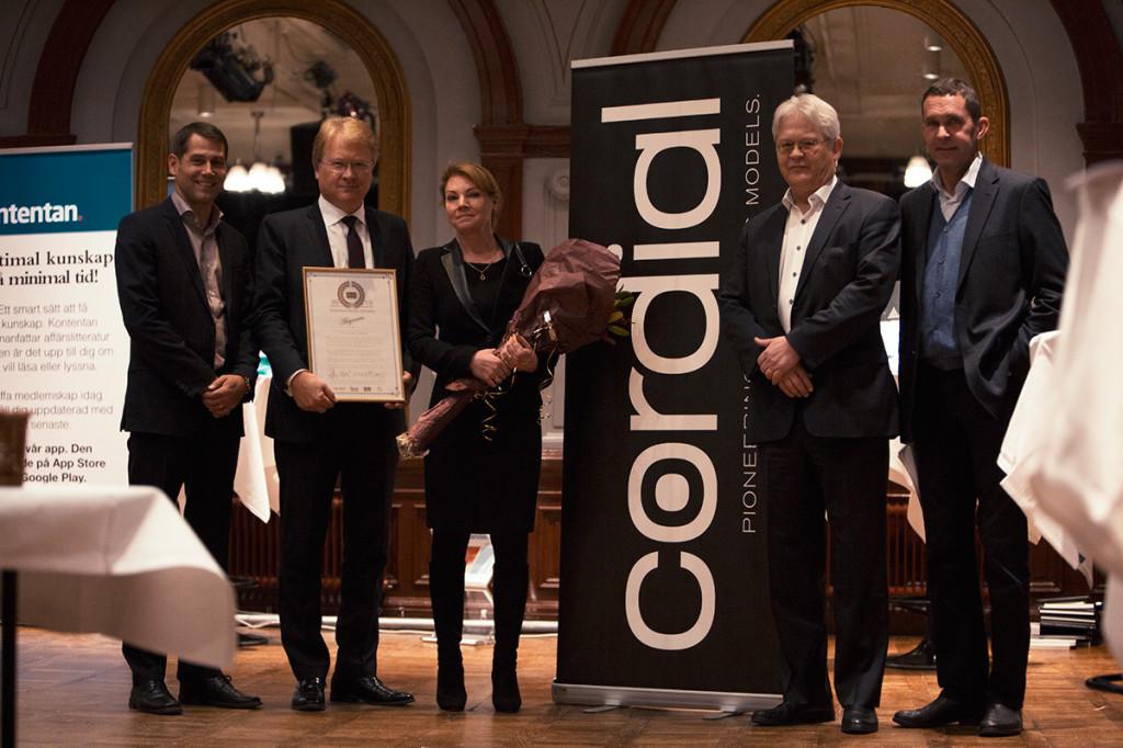 Meganews team - Cordial Business Awards 2013